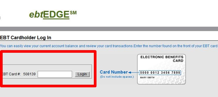 Ebtedge login ebt card holder login - Can i check my post office account online ...